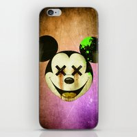 mickey iPhone & iPod Skins featuring Mickey by wrong planet