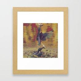 Kingfishin' (pt.1) I Framed Art Print