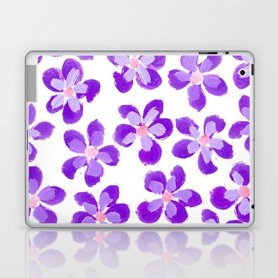 Posey Power - Purple Multi Laptop & iPad Skin