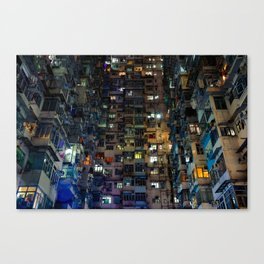 Hong Kong Walled City Canvas Print