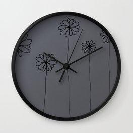 Little Daisys Wall Clock