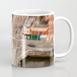 Dublin city center aerial view Coffee Mug