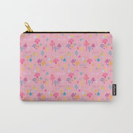 Fun Guy in Pink Carry-All Pouch