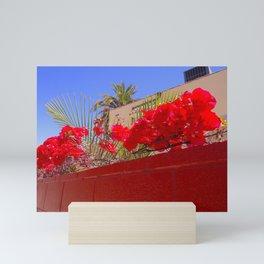 Long Beach Flower Stop Mini Art Print