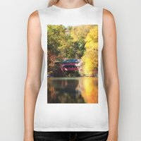 serenity Biker Tanks featuring Serenity by Captive Images Photography