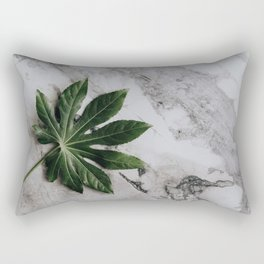 Aralia Leaf Rectangular Pillow