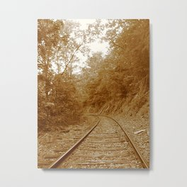 Old Steel Highway Metal Print
