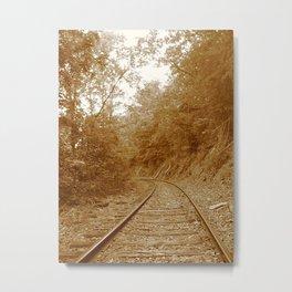 Old Steel Highway Metal Print