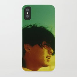 Asian Green and Yellow iPhone Case