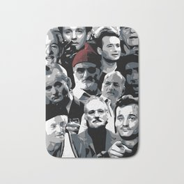 The many faces of Bill Murray Bath Mat