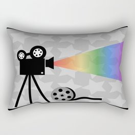 Old movies nostalgia Rectangular Pillow