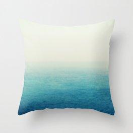 The Big Blue Throw Pillow