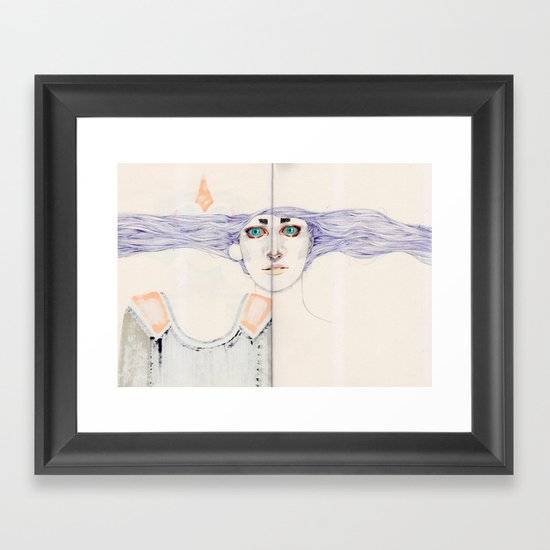 Overdone Framed Art Print
