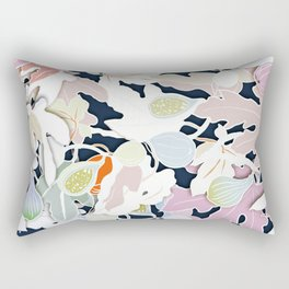 floral leaves Rectangular Pillow