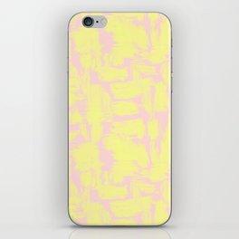 pink yellow iPhone Skin