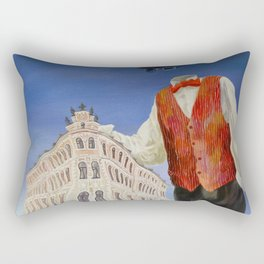 Lost game Rectangular Pillow