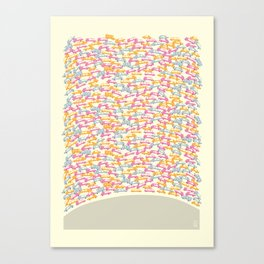 Traffic Jam Canvas Print
