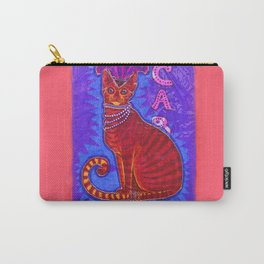 Cabaret Cat Carry-All Pouch