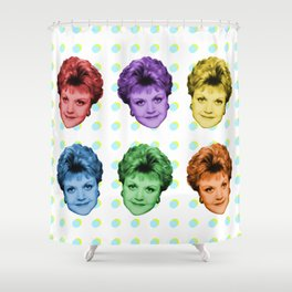 Badass, She Is! Shower Curtain