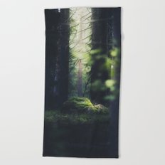 Never trust a fairy Beach Towel