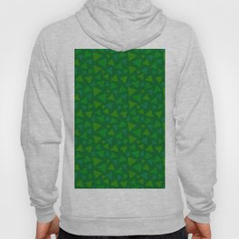 animal crossing floor patterns tri deep Green Hoody