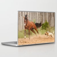 games Laptop & iPad Skins featuring games by Ironia Art