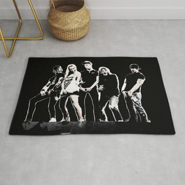 WARNER DRIVE - LIVE CURRENT WALL series - BLACK version Rug