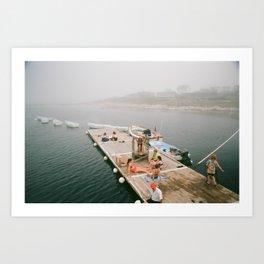summer at star island Art Print