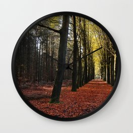 Autumn Dream Wall Clock