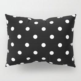 Black & White Polka Dots Pillow Sham