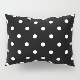 Black & White Polka Dots Pillow Sham
