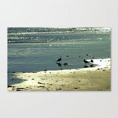 Morning Glitter Canvas Print