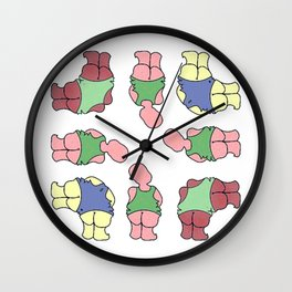 rise above.... Wall Clock