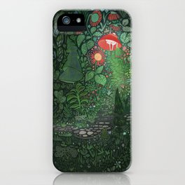 The Woods: Little Red iPhone Case