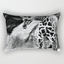 Baby giraffe Rectangular Pillow