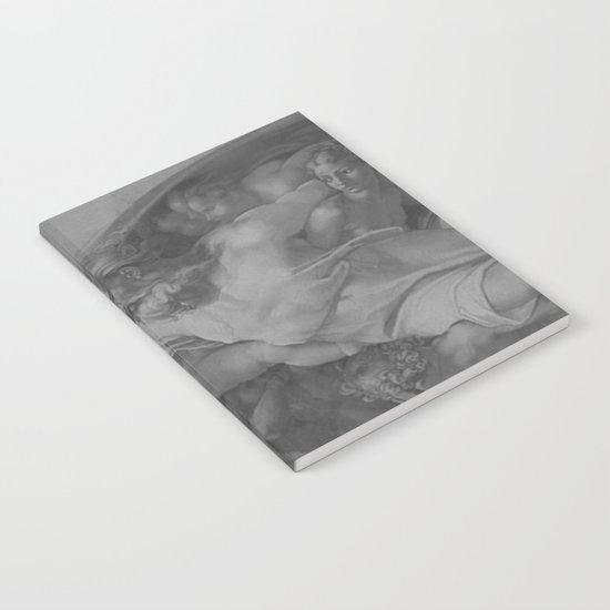 Black White Sistine Notebook