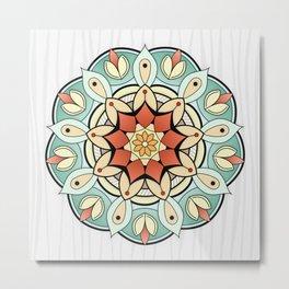 Mandala Awakening Metal Print