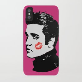 Elvis in the Pink iPhone Case
