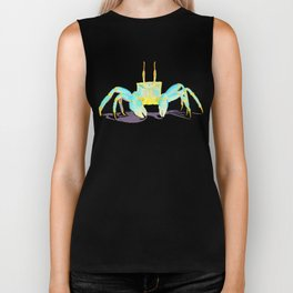 Turquoise Crab Biker Tank