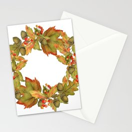 Oak Ring Stationery Cards