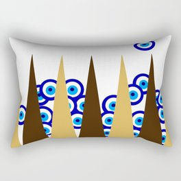 Sheshbesh Rectangular Pillow