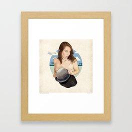 Miss North Carolina Framed Art Print