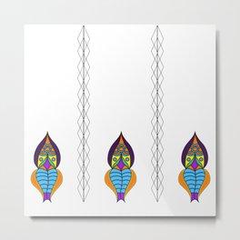 Picchu Diamonds Metal Print