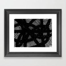 Fluctus Framed Art Print