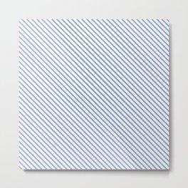 Serenity Stripe Metal Print