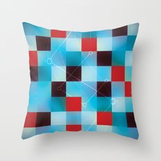 Chemistry. Throw Pillow