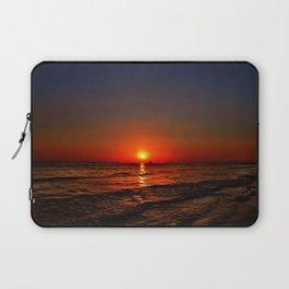 Sonnenuntergang am Meer Laptop Sleeve