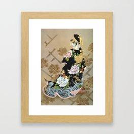 Haruyo Morita - Echigo Dojouji Framed Art Print
