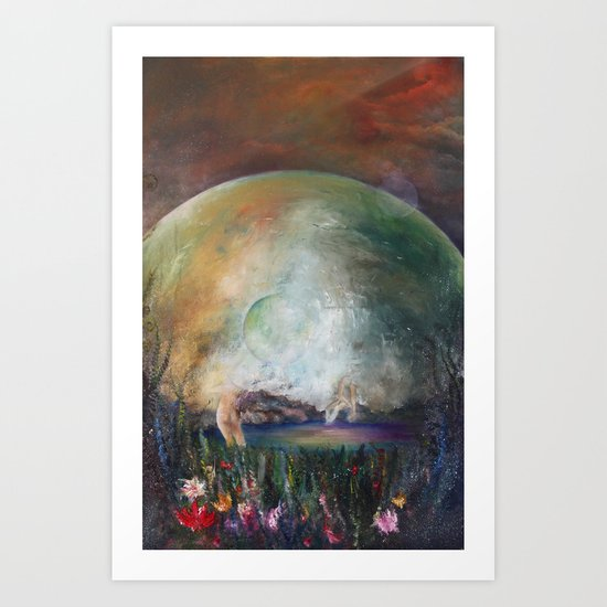 Astral Sphere Art Print