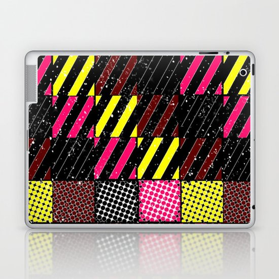Crazier Pattern Laptop & iPad Skin